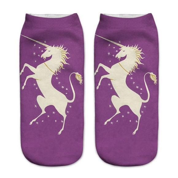 Accessories - Magical Unicorn Socks